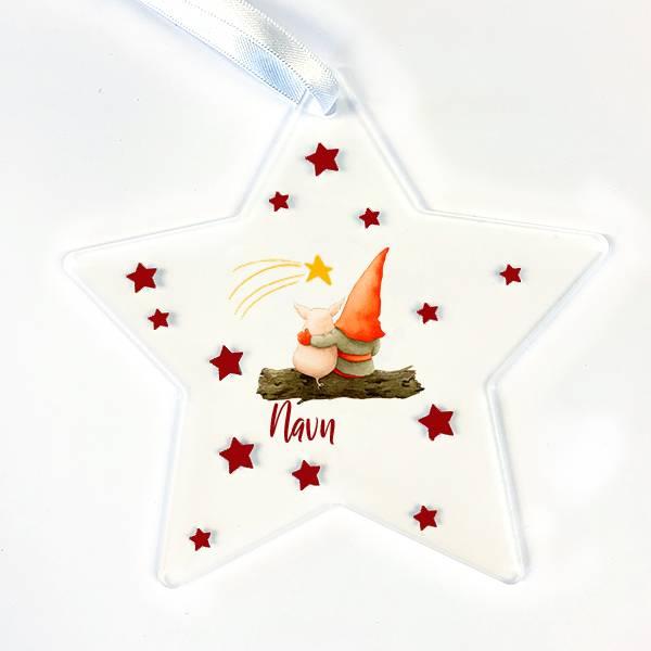 Stjerne.. Nisse og gris stjerneskudd