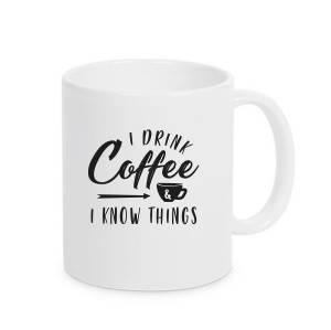 Bilde av Kopp - I drink coffee and