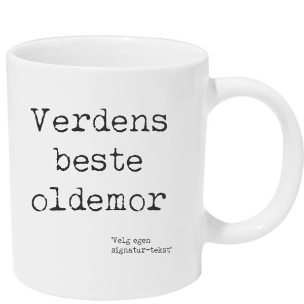 Kopp Verdens beste oldemor